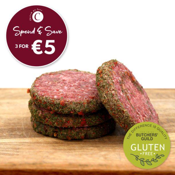 Corrigans Lamb Burgers Gluten Free