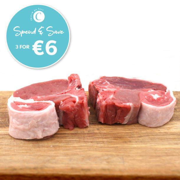 Corrigans Centre Loin lamb Chops