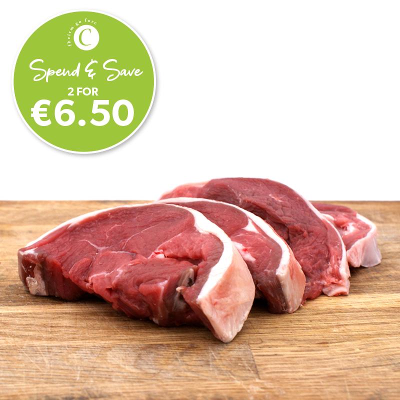 Corrigans Side Loin Lamb Chops